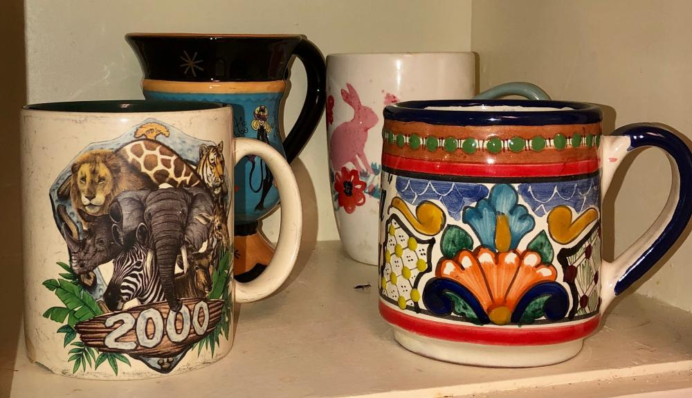 Lot 257: Coffee Mugs