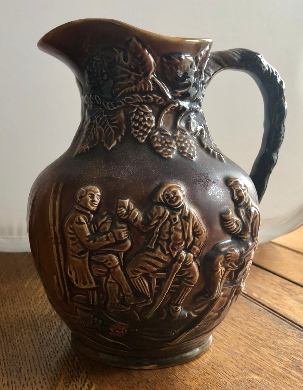 Lot 262: Brown Pitcher