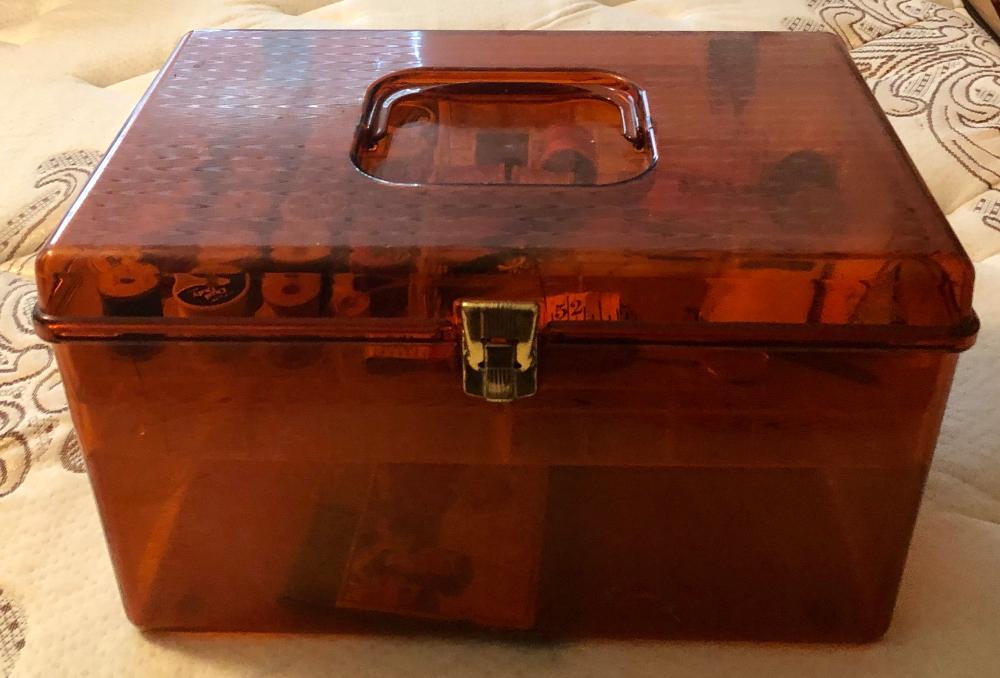 Lot 298: Sewing Box