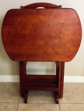 Lot 183: Set of 4 Nesting Tables