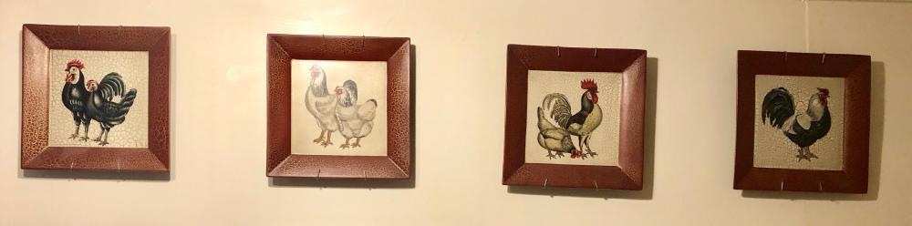 Lot 242: Rooster Pictures