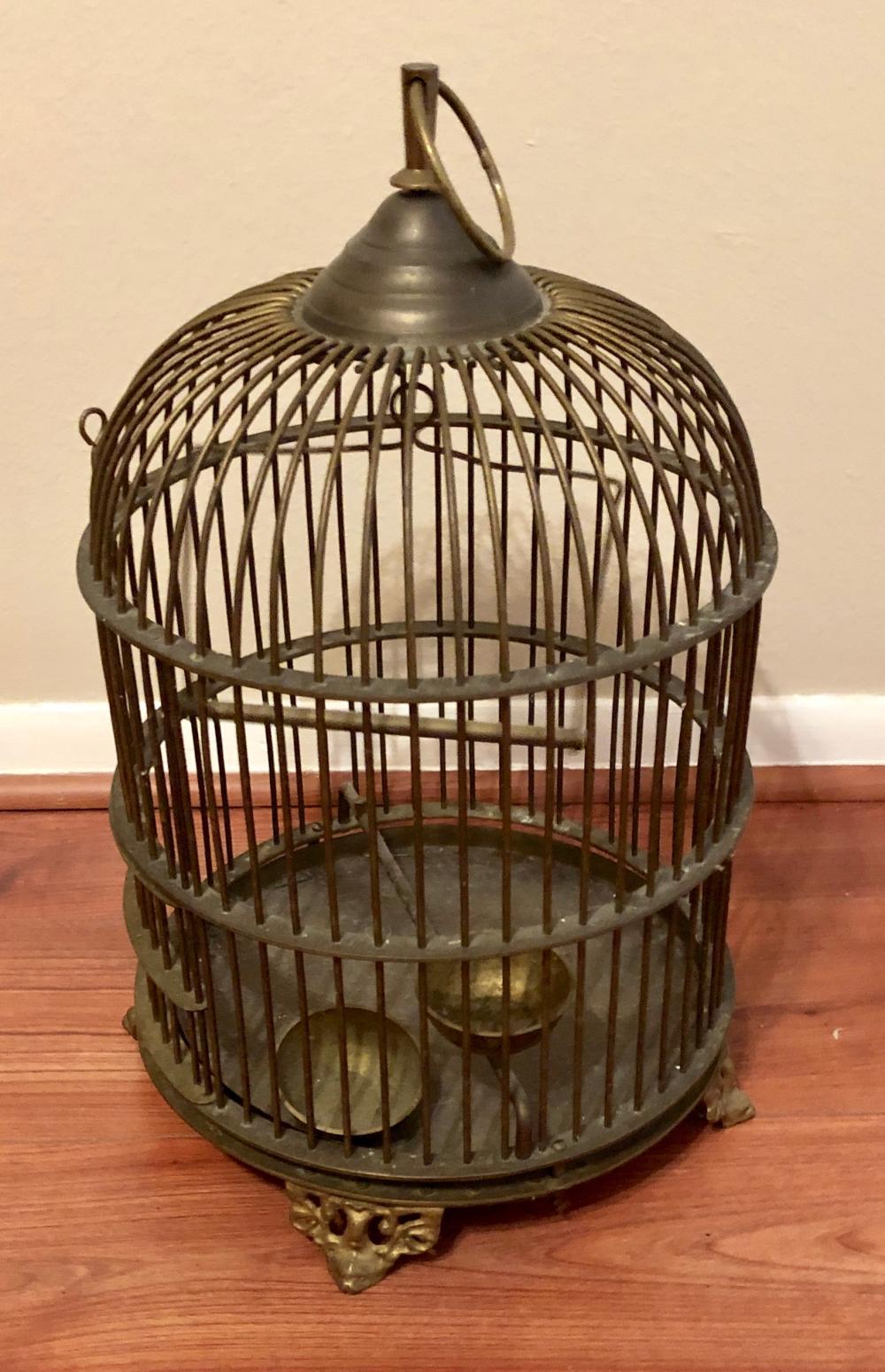 Lot 68: Round Bird Cage