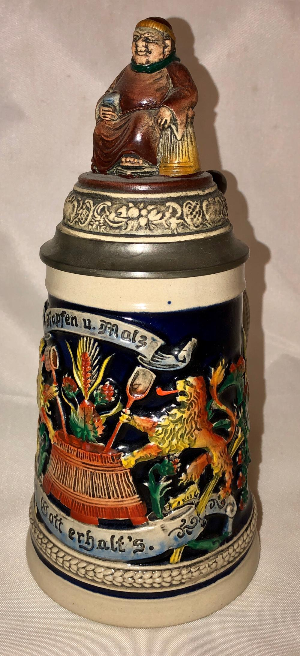 Lot 75: Collector Stein