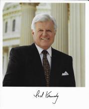 Senator Edward Kennedy Hand Signed Photo