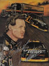 Rusty Wallace Hand Signed Photo