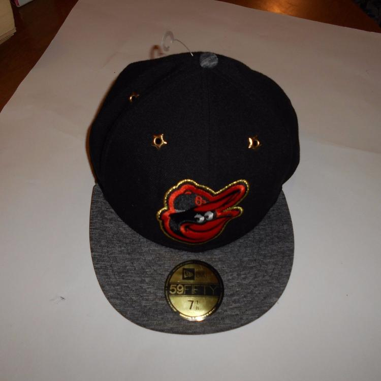 Lot 186 New Era 59Fifty Fitted Hat Cap Size 7 1 8 Baltimore Orioles
