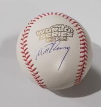 Mitt Romney  Hand Signed Rawlings  World Series Baseball
