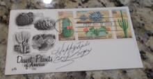 Roy Rogers  Hand Signed 1981 First Day Cover