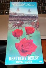 1973 Secretariat's Kentucky Derby Program..1st Leg of History