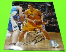 Luke Walton  Autographed Los Angeles Lakers Photo