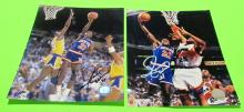 2 Gerald Wilkins  Autographed New York & Cleveland Photos