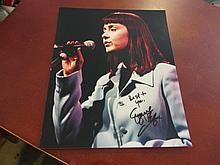 Suzanne Vega Autographed Photo
