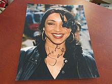 Sade Adu Autographed Color Photo