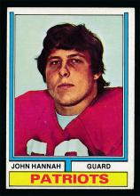 1973 Topps Football #383 John Hannah Rookie