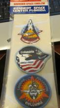 Kennedy Space Center Emblem Unopened Emblem Patches