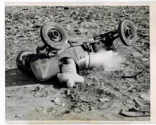 Scarce Leonard Powell ''Death on Speedway'' Press Photo From 1937