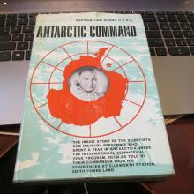 Finn Ronne U.S.N.R. Hand Signed Book....Antarctic Command