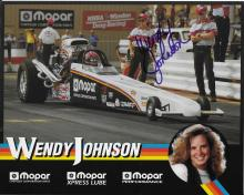 Wendy Johnson Hand Signed Color Photo