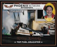 Kenny Koretsky Hand Signed Color Photo