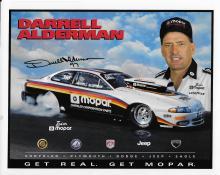 Darrell Alderman Hand Signed Color Photo