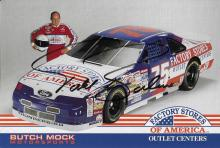 Todd Bodine Hand Signed0 Color Photo