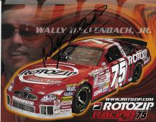 Wally Dallenbach Jr Hand Signed Color Picture