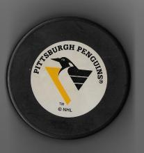Pittsburgh Penguins Official License Trench Mfg Hockey Puck