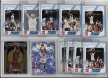 25 Michael Jordan Basketball Cards 9 North Carolina Coke Cards