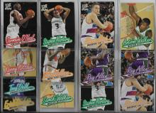 23  1997/98 Fleer Ultra Rookie Basketball Card Lot Allen, Walker, Nash, Marbury & 2 Iverson