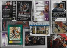 Huge Basketball Insert Card Lot  Shaq, Duncan, Carter, Kidd, Barkley, Olajuwon, Iverson