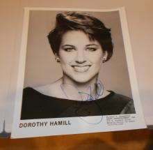 Dorothy Hamill  Hand Signed Photo
