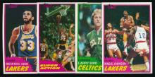 1981/82 Topps Basketball (4) Key Superstar Cards