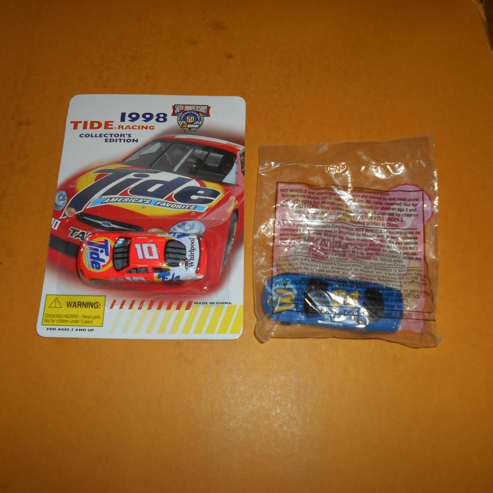 Racing Champions #10 Ricky Rudd Tide Ford Taurus Nascar 1:64 Diecast
