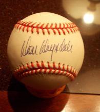 September Autograph Auction