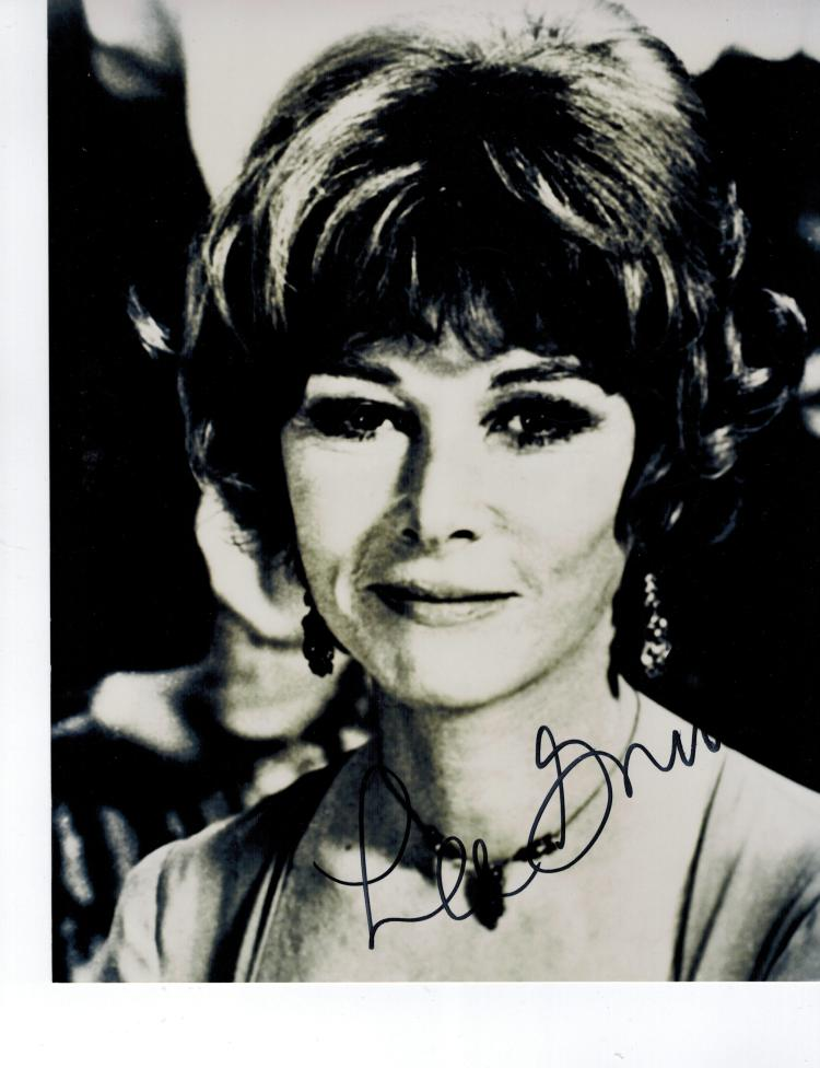 Lee Grant Hand Signed Photo...