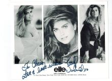 Kathy Ireland Hand Signed Photo...