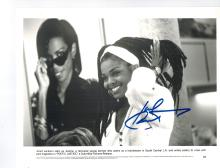 Janet Jackson Hand Signed Photo...