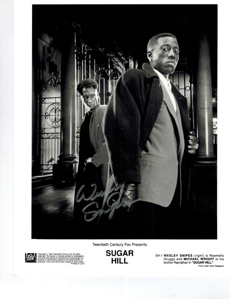 Wesley Snipes Hand Signed Photo....