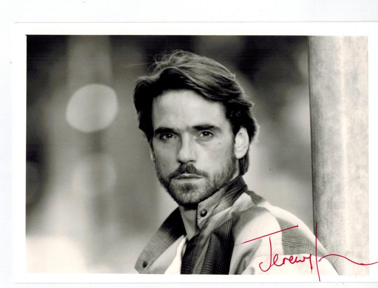 Jeremy Irons Hand Signed Photo...