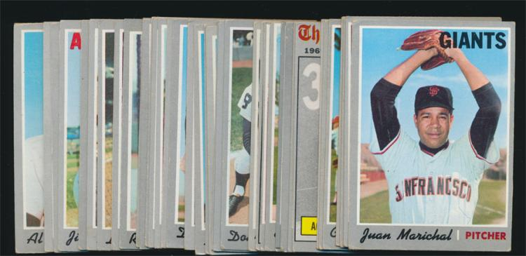 (40) Assorted 1970 Topps Baseball cards with stars (Vg/Ex)