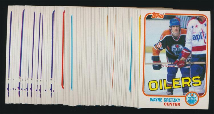 1981/82 Topps hockey National Set of 66 (Nrmt- Nm/Mt) Gretzky/Bourque