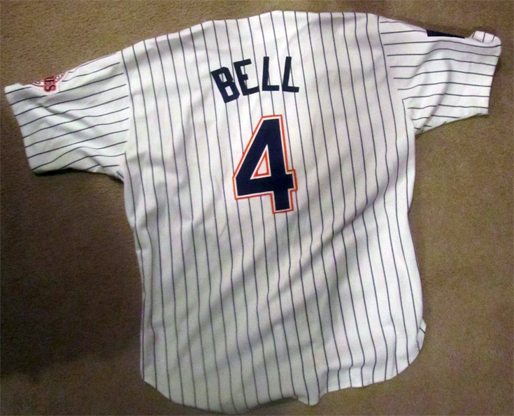 1993-1994 Derek Bell San Diego Padres Authentic Uniform