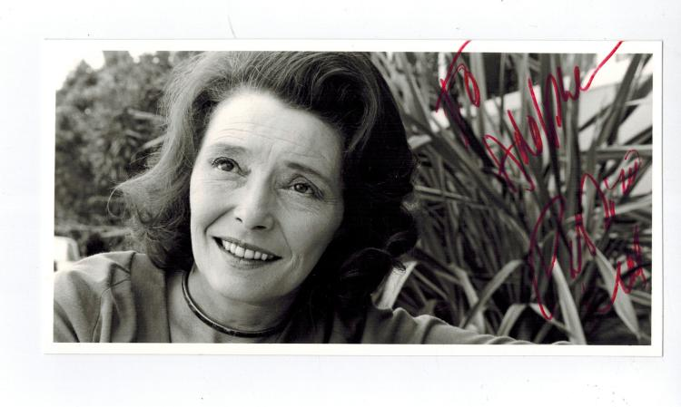 Patricia Neal Hand Signed Photo