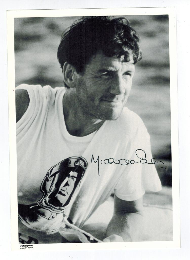 Michael Palin Hand Signed Photo....Monty Python