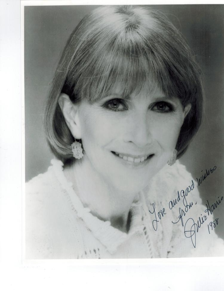 Julie Harris Hand Signed Photo...