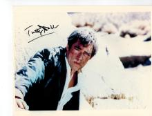 Timothy Dalton Hand Signed Photo..