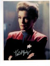 Kate Mulgrew Hand Signed Photo