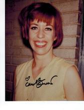 Carol Burnett Hand Signed Photo.