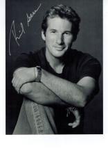Richard Gere Hand Signed Photo...