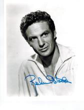 Robert Stack Hand Signed Photo..